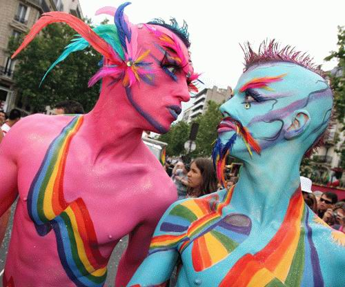 Gay pride in Cancun 2012