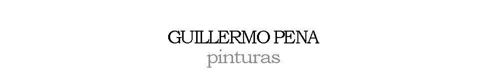 Guillermo Pena pinturas