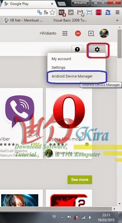 Halaman Google Play wd-kira