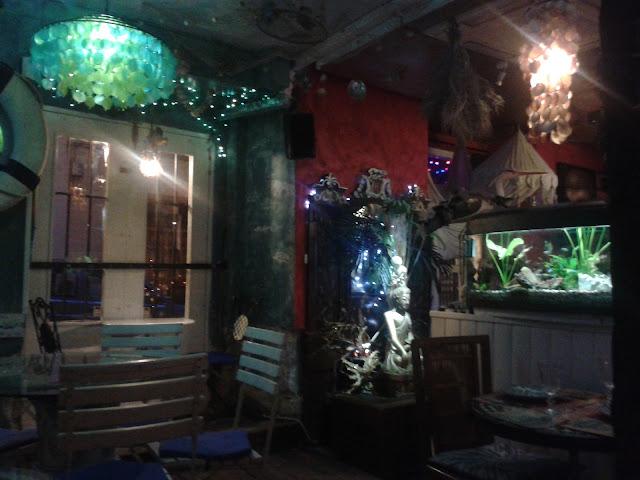 Restaurante Rustika. Conde Duque.