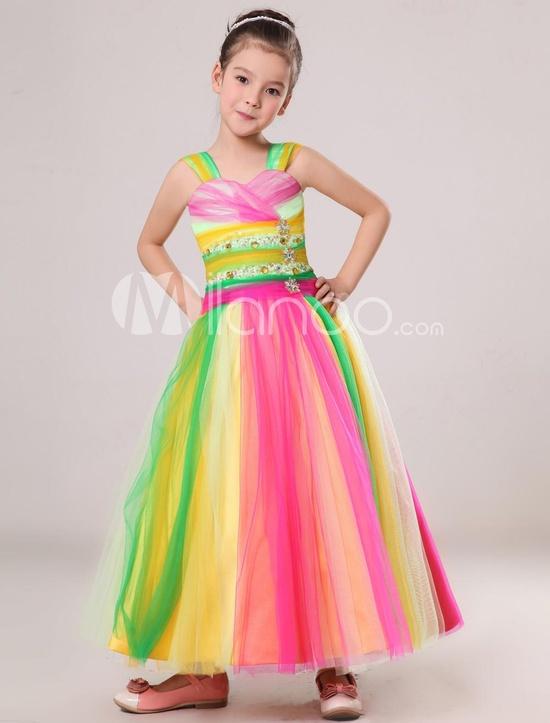 Платье из гофрированной бумаги своими руками на конкурс для девочки 77