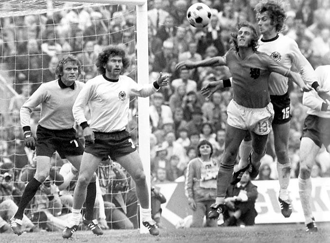 Bonhof de Alemania contra Holanda