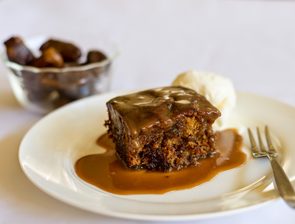 The BEST Sticky Date Pudding ~ The Eclectic Reader