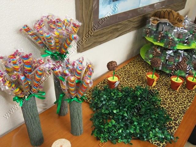 decoracao de festa infantil safari / selva / floresta provençal porto alegre