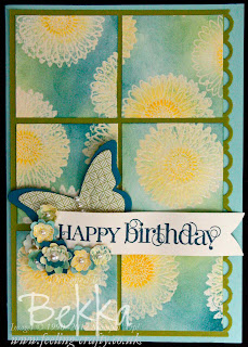 Reason to Smile Butterfly Birthday Card by Bekka www.feeling-crafty.co.uk