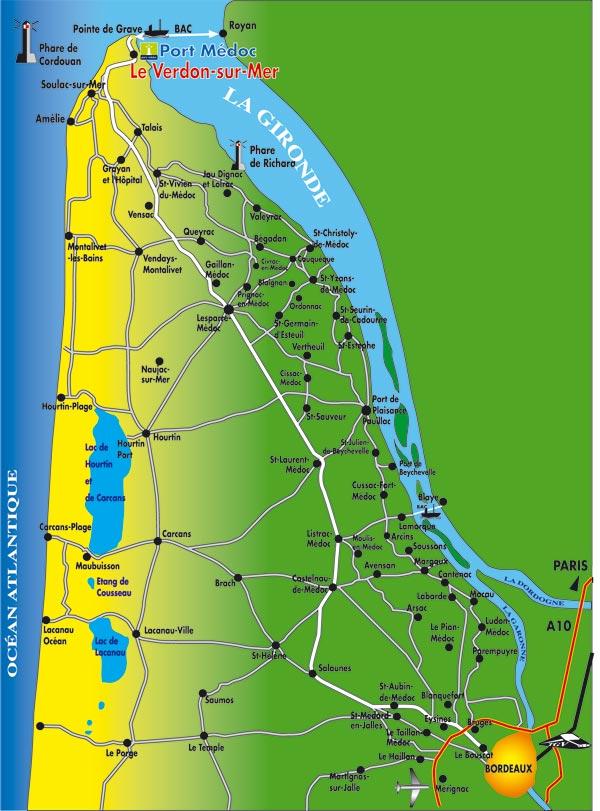 Gerry frans naar santiago fietspaden achter de duinen - Office de tourisme le verdon sur mer ...