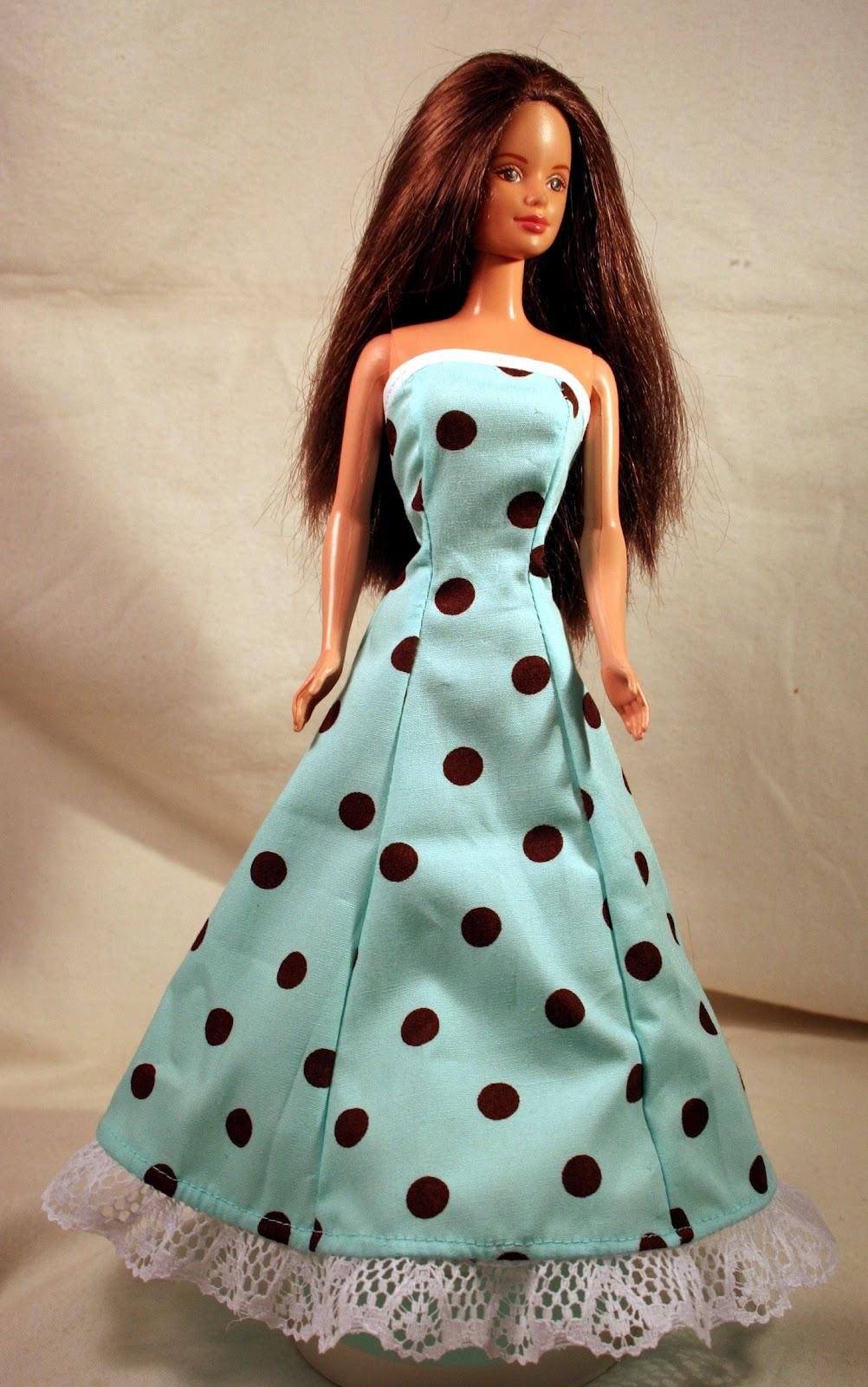 Как шить кукле платья своими руками