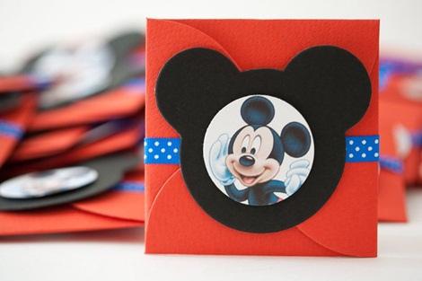 Como hacer invitaciónes de Mickey Mouse - Imagui