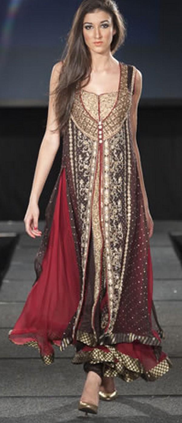 Paki Fashion 2012: Pakistani Party Dresses