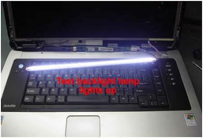 Cara Memperbaiki Lampu BackLight Laptop Yang Rusak