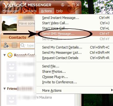 nomer baru anda bisa klik Other dan tuliskan nomer hp teman anda