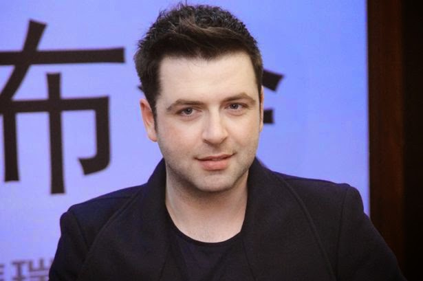 Former Westlife Singer Mark Feehily Now selling Coffees from a Catering Van