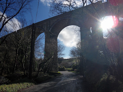 Gover Valley viaduct Cornwall