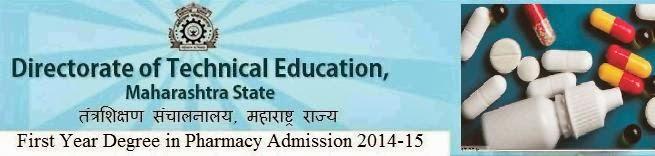 Maharashtra State B.Pharmacy MT-CET 2014
