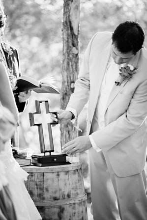 Ryan and Leslie, Unity Cross, McGowan Images, Texas Ranch Wedding