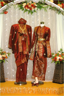 Model Songket Pengantin