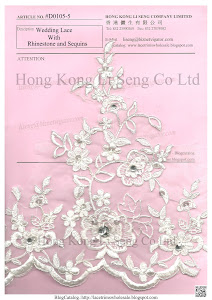 Wedding Lace Trims Manufacturer And Wholesale - Hong Kong Li Seng Co Ltd