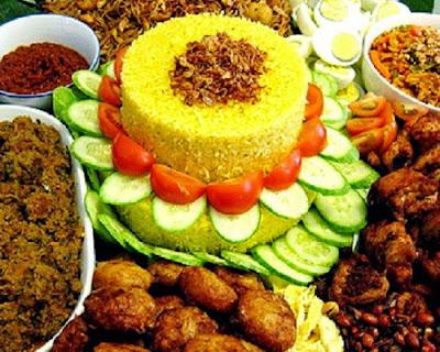 Hidangan Sederhana untuk Ulang Tahun