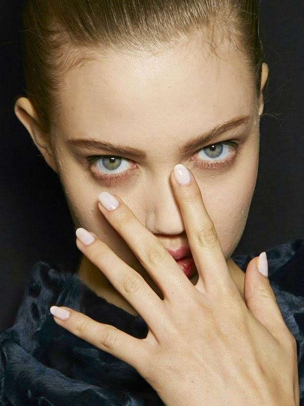 tendencias manicura uñas nude