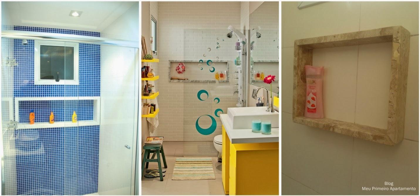 Meu Palácio de 64m² Tudo sobre nichos de banheiro # Nicho De Banheiro Barato