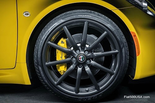 Alfa Romeo 4C Alloy Wheel