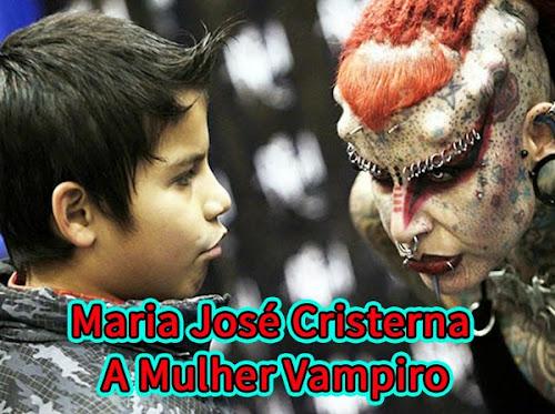 Maria José Cristerna - A Mulher Vampiro