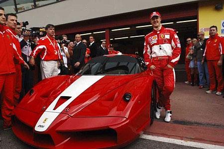 Schumacher 2013 Ferrari Michael Schumacher in Ferrari