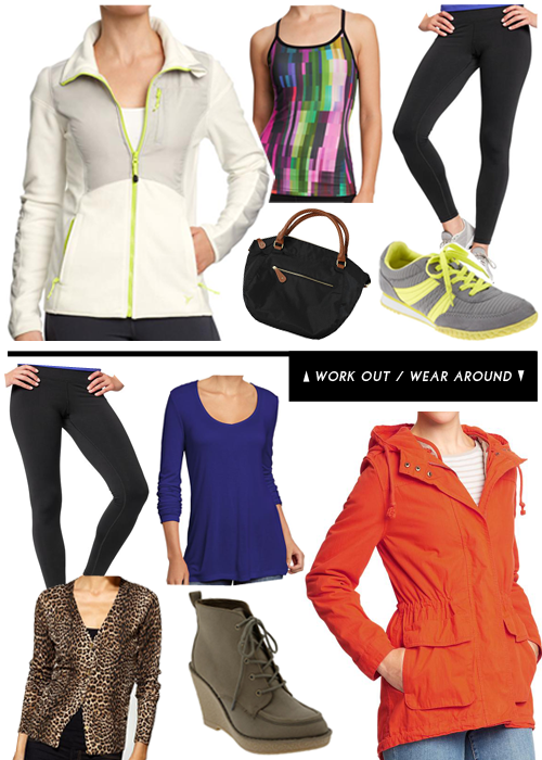 StyleAndPepperBlog.com : : How to Style // Workout Wear-around