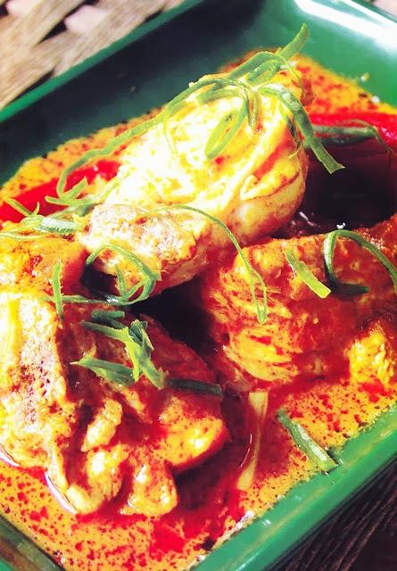 Resipi Ayam Masak Kalio