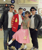image Team Harrison Showing 50's Costumes