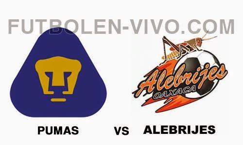 Pumas vs Alebrijes de Oaxaca