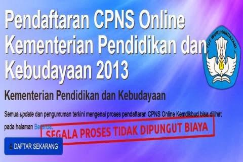 Pendaftaran CPNS Online Kemendikbud 2013, Lihat Tata Cara dan Panduan