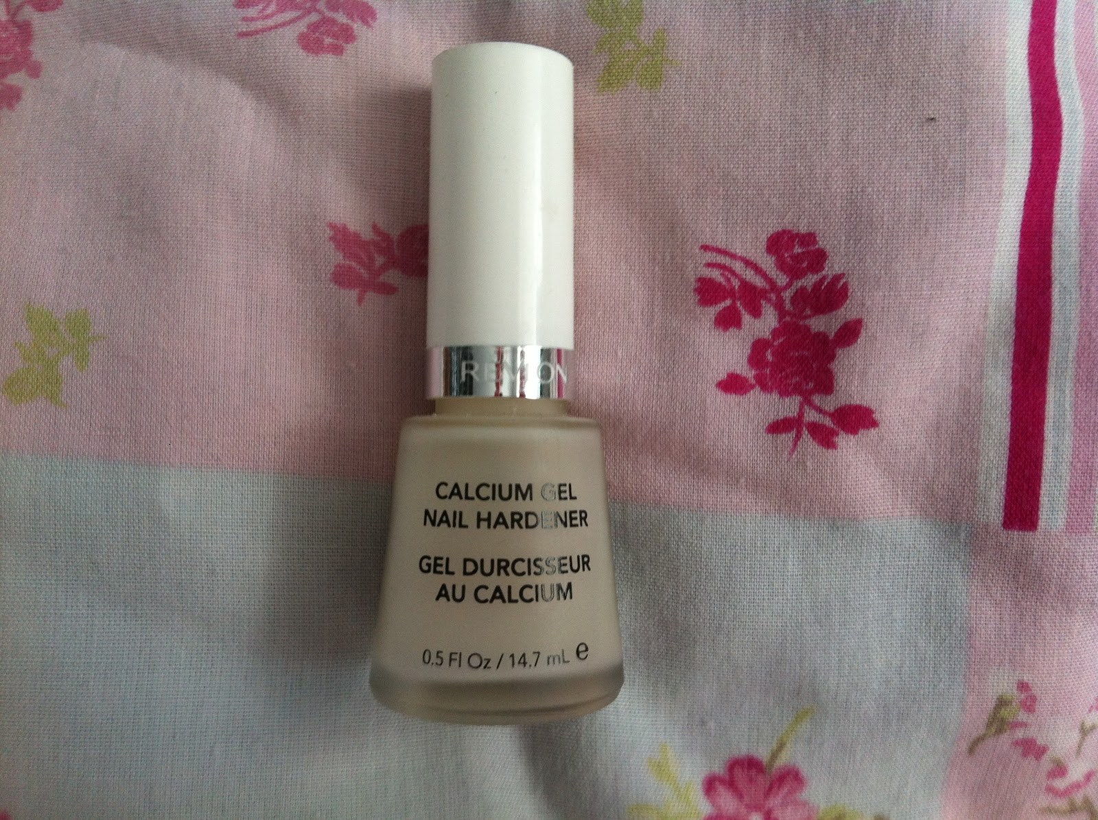 this revlon calcium gel nail hardener a couple of months back my nails