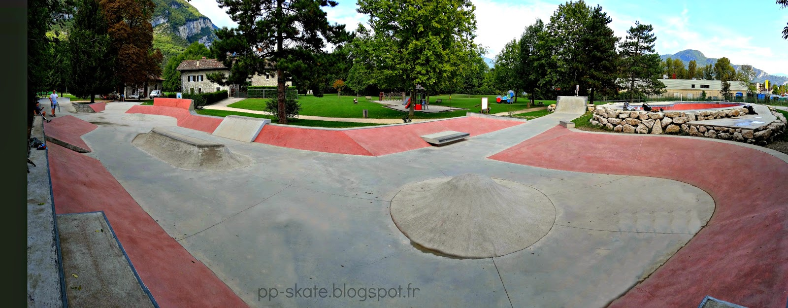Skatepark Fontaine 38