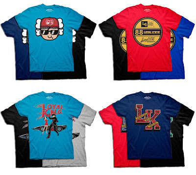 Loyal K.N.G. Spring 2012 Collection - Stay Cool Atama, Authentic Loyal K.N.G., Big Speed, L.K. College