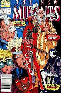 New Mutants #98 - 365 Days of Comics