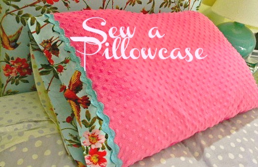 The Design Pages Diy Simple Sewing Make A Pillowcase