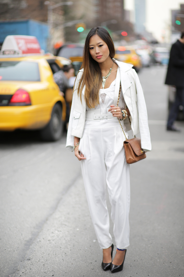 La Mademoiselle Snob The Best Of Fashion Blogger At New York Fashion Week
