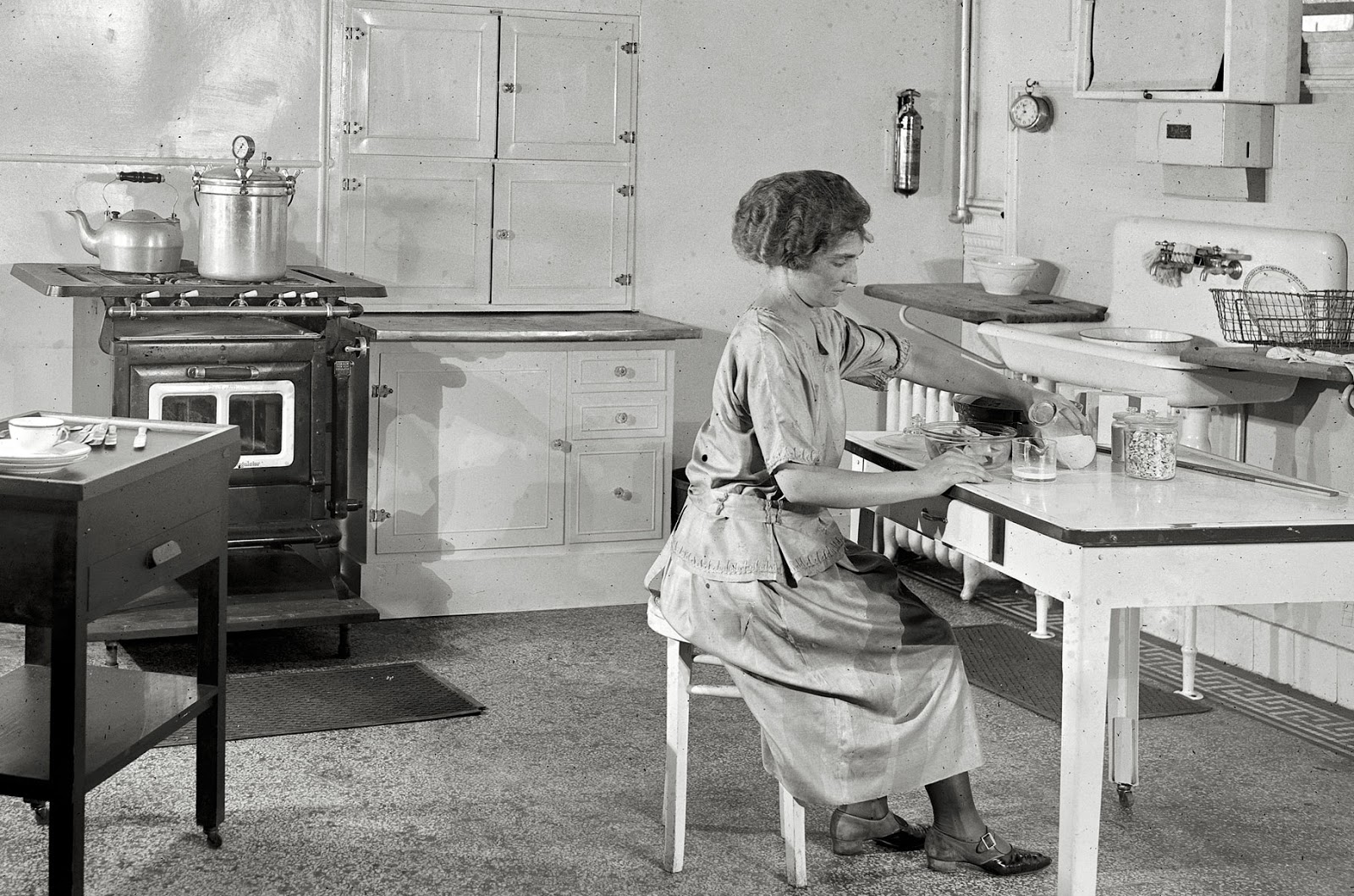 Over The Years We Lived With Facilities Of Every Vintage. Looking Back, I  Consider Each Of Those Very Different Kitchens And Baths As Laboratories.