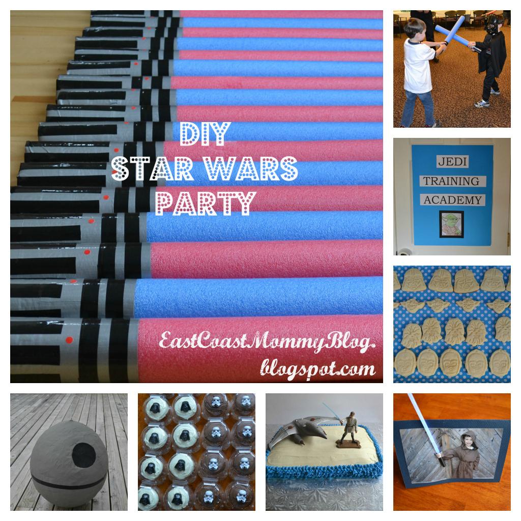 East Coast Mommy Diy Star Wars Party