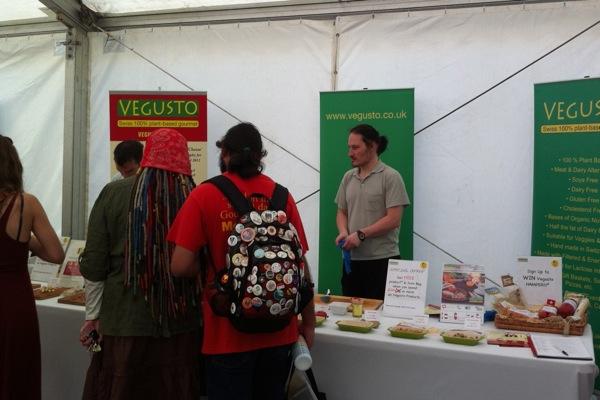 VegFest Bristol 2012 - stall - Vegusto