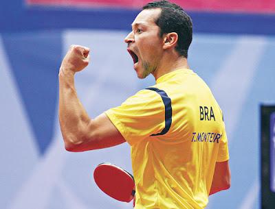 O Cearense Thiago Monteiro fará parte da equipe que representará o Brasil nas Olimpíadas de Londres 2012
