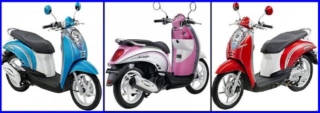 Gamabar Foto Modifikasi Motor Terbaru Honda Scoopy Tampil dengan 3 Warna Baru.jpg