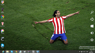 Atletico Madrid Fc Windows 8 Theme
