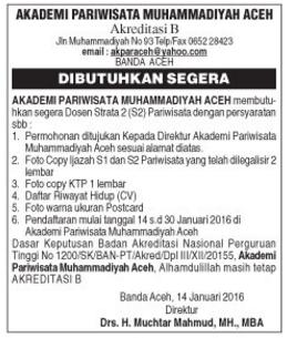 Akademi Pariwisata Muhammadiyah Aceh