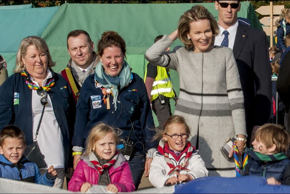 Queen Mathilde At Centennial Celebrations Of Catholic Guides