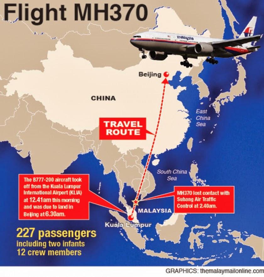 Berita Terkini Pesawat Mas Mh370 Hilang Youtube