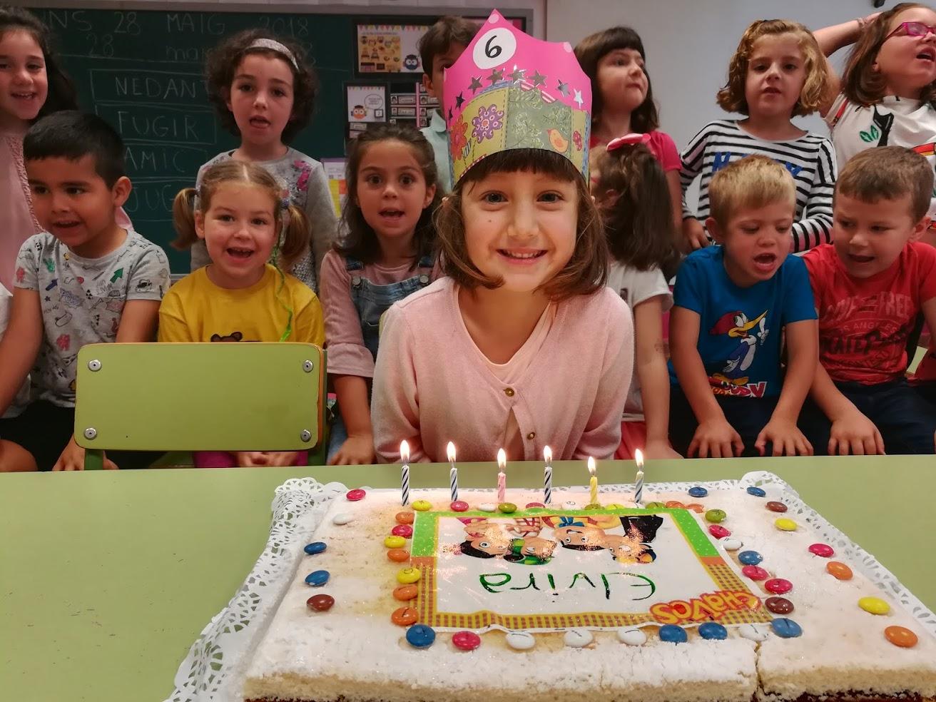 N'Elvira ja té 6 anys!!