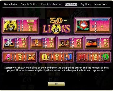 50 lions slot machine apps for kindle