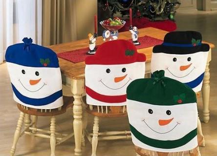 Decorando dormitorios como puedo decorar mis sillas para - Adornos navidenos para sillas ...